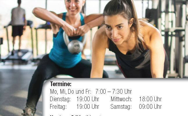 Neuer Trainingskurs 30 Minuten